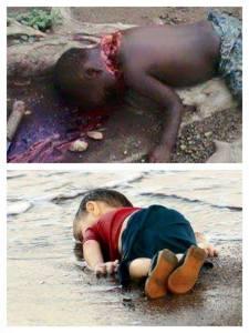 enfants morts